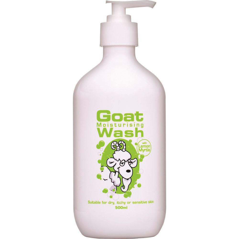 DPP Goat Moisturising Wash Lemon Myrtle 500ml