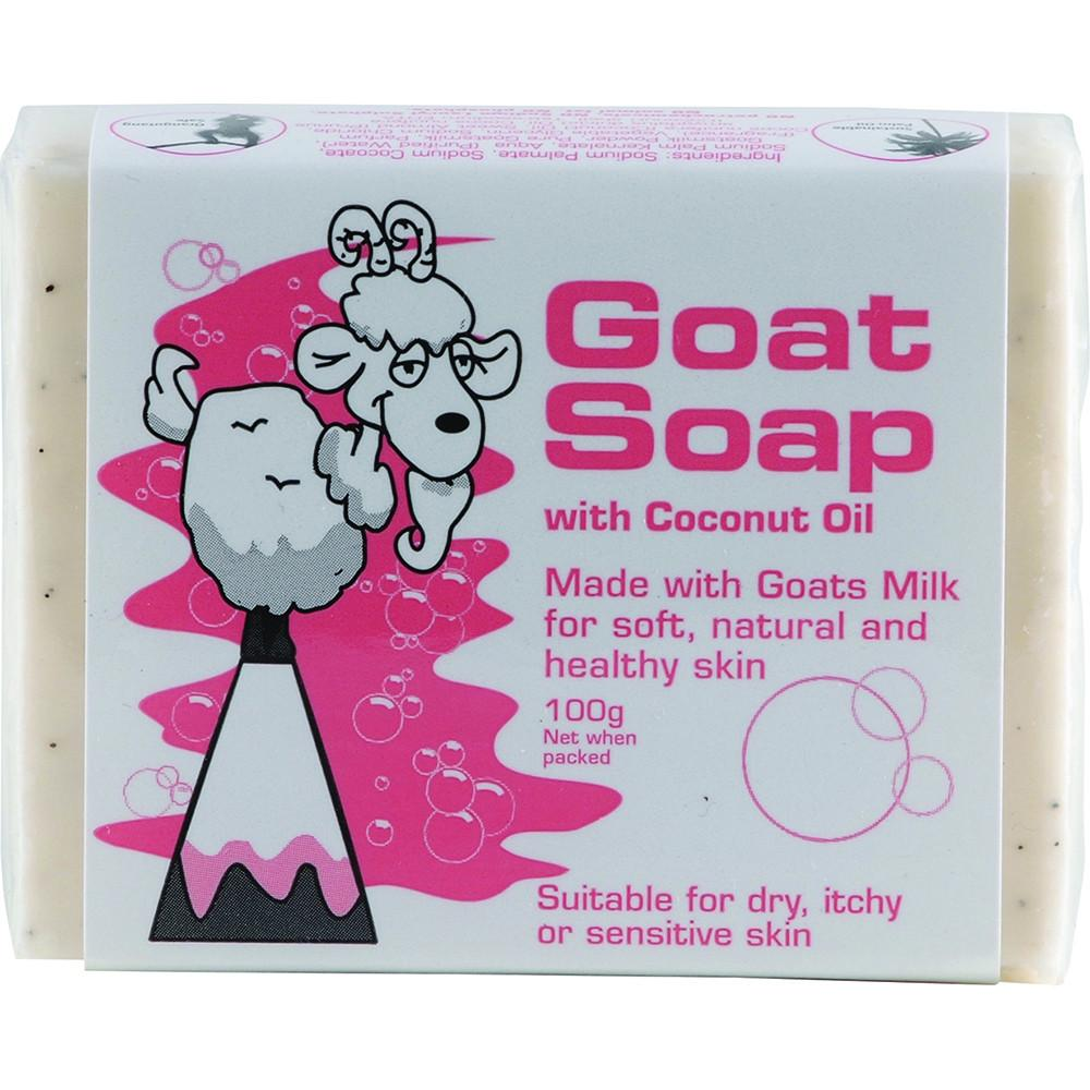 DPP Goat Soap Coconut 100g