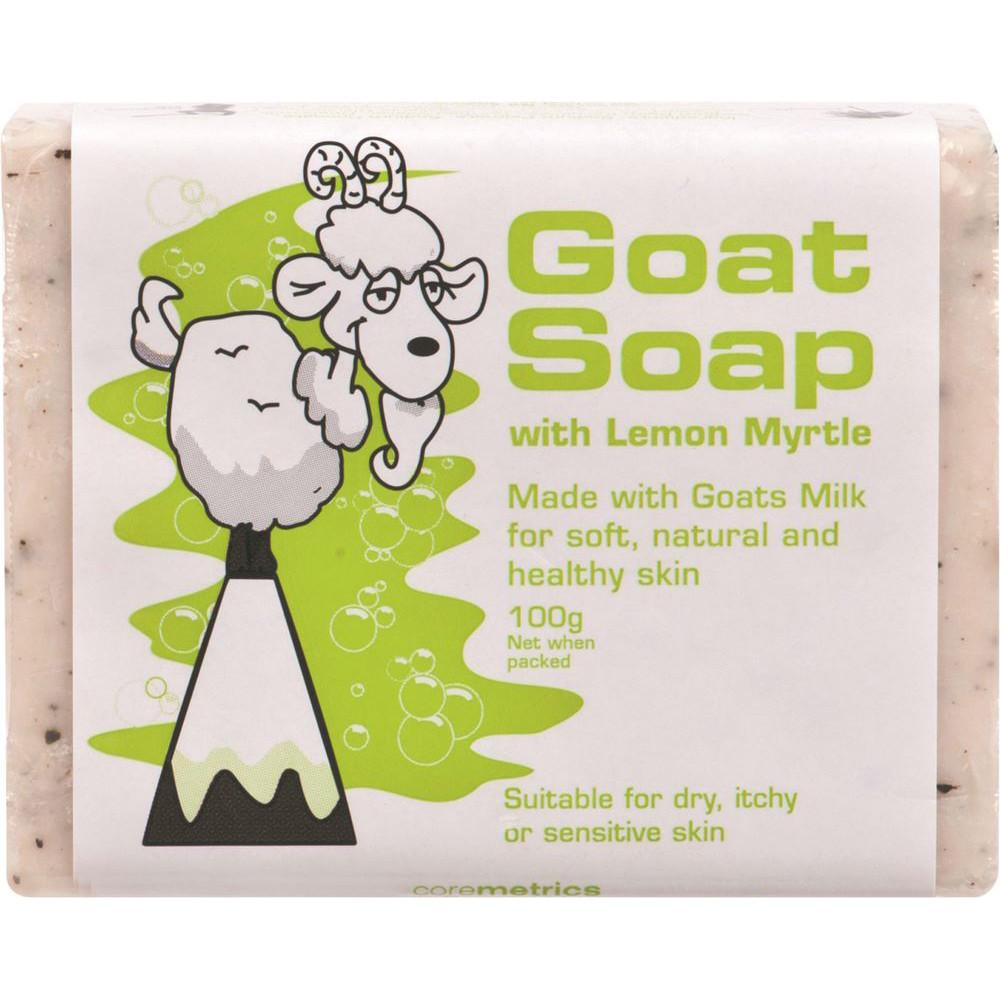DPP Goat Soap Lemon Myrtle 100g