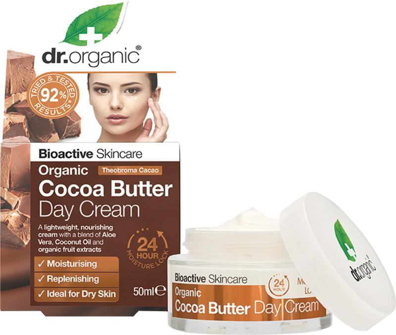 Dr Organic Day Cream Organic Cocoa Butter 50ml