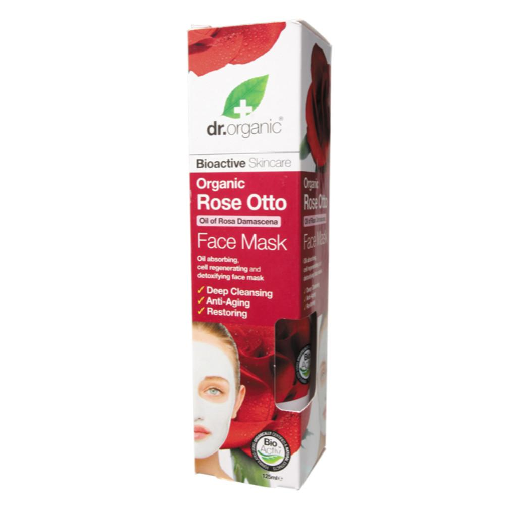 Dr Organic Face Mask 125ml Organic Rose Otto
