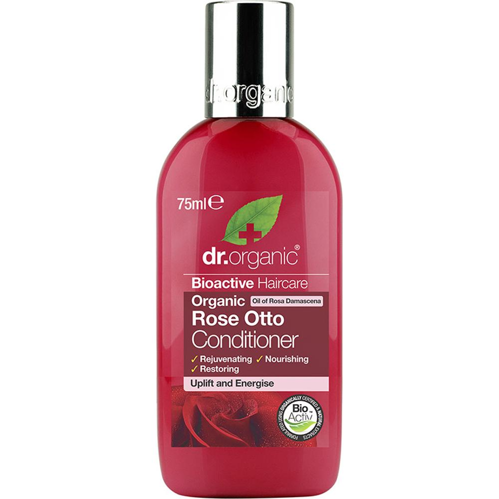 Dr Organic Travel Size Conditioner Organic Rose Otto 75ml