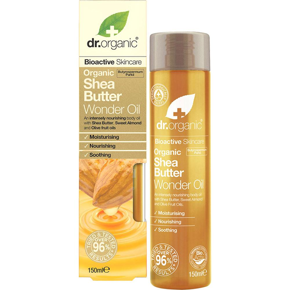 Dr Organic Wonder Oil Organic Shea Butter 150ml