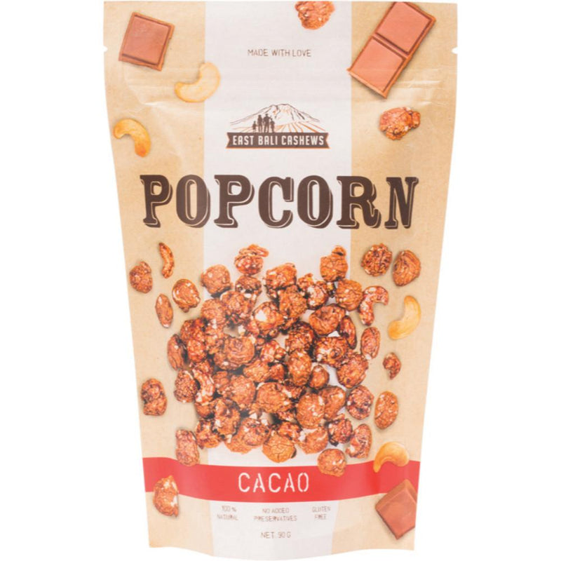 East Bali Cashews Cacao Popcorn 90g With Cashews