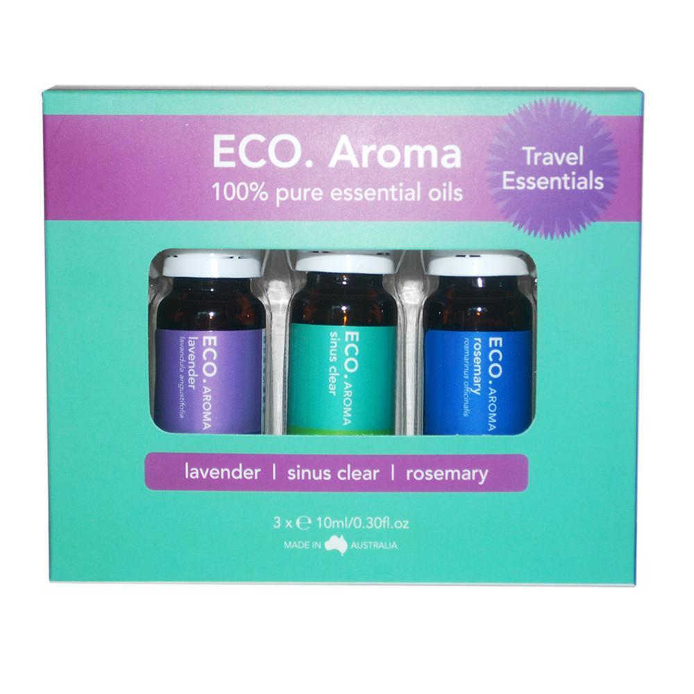 ECO Aroma Travel Essentials Trio Pack