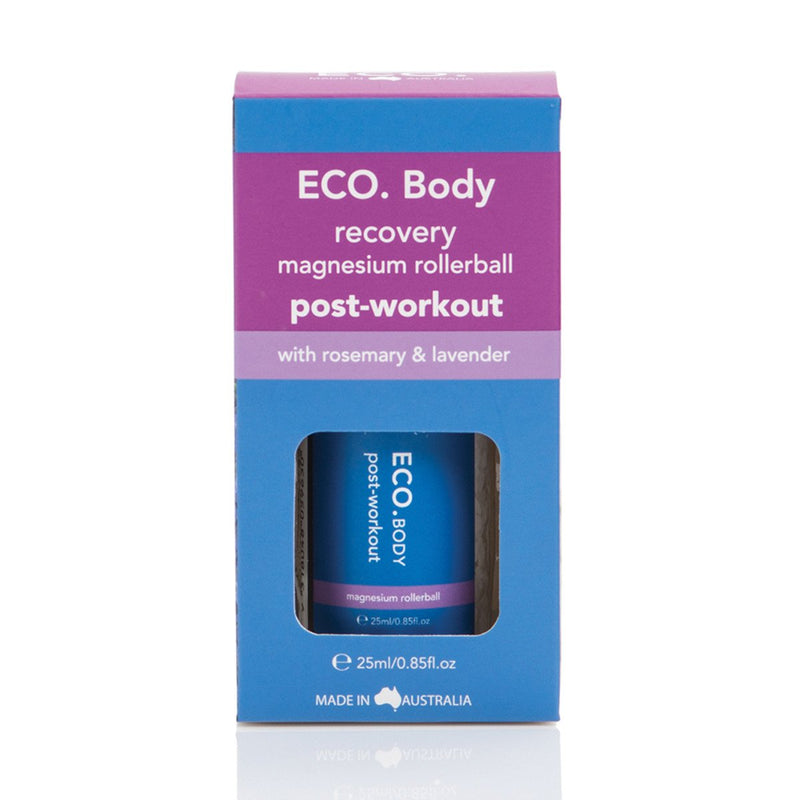 ECO Body Recovery Post Workout Magnesium Rollerball 25ml