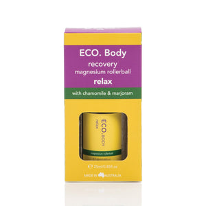ECO Body Recovery Pre Workout Magnesium Rollerball 25ml