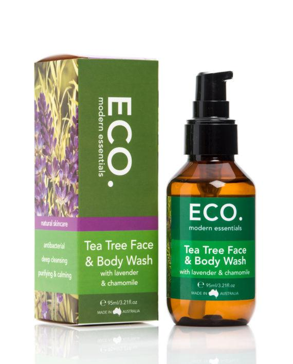 ECO Face Tea Tree Face & Body Wash 95ml