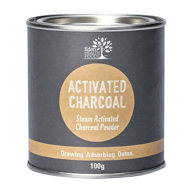 Eden Health Foods Steam Activated Charcoal Powder