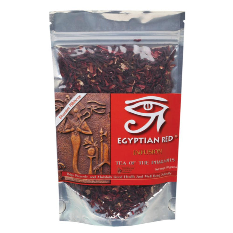 Egyptian Red Herbal Loose Leaf Tea 100g Tea of the Pharaohs