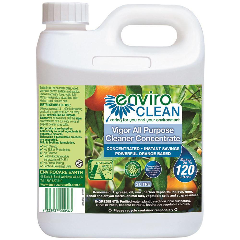 Enviroclean Vigor All Purpose Cleaner Concentrate 2L