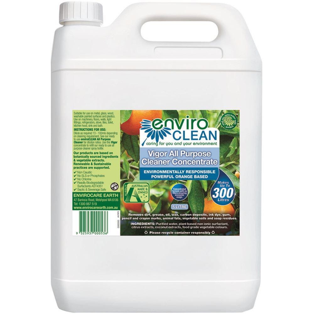 Enviroclean Vigor All Purpose Cleaner Concentrate 5L