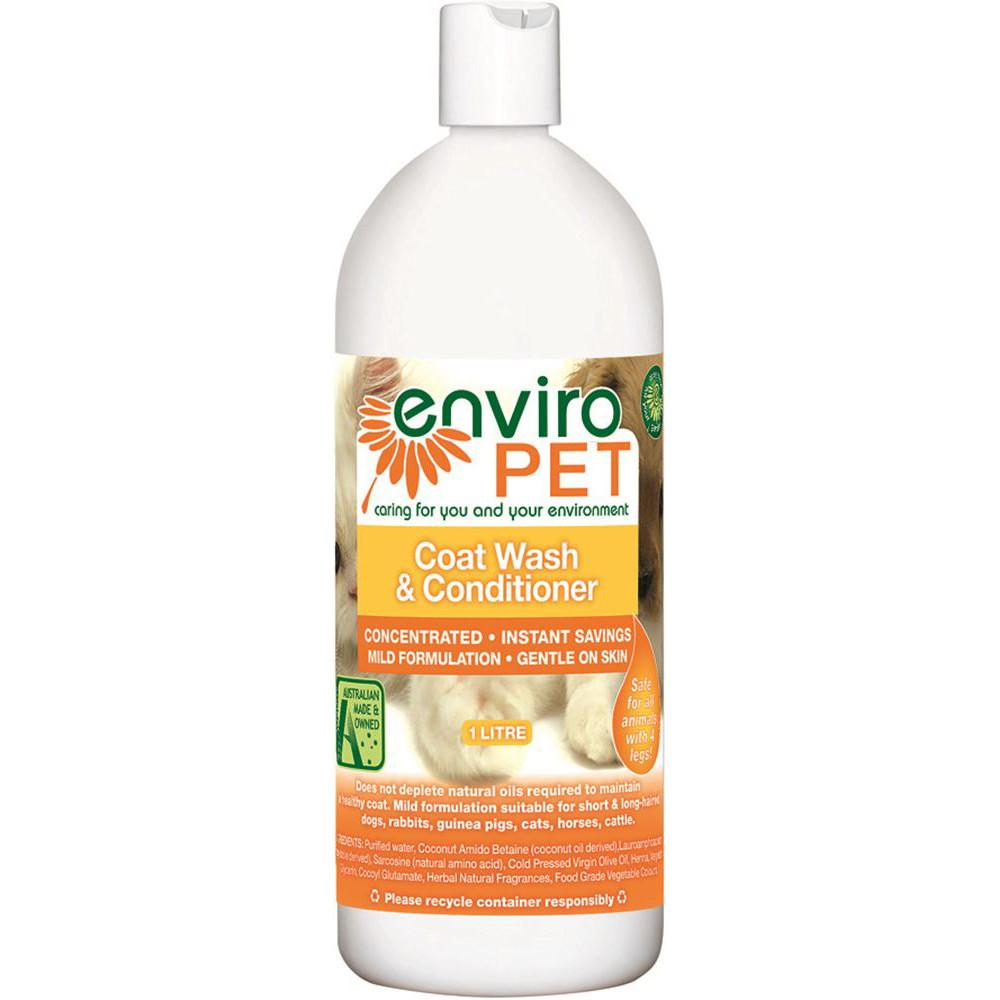 Enviropet Pet Coat Wash and Conditioner 1L