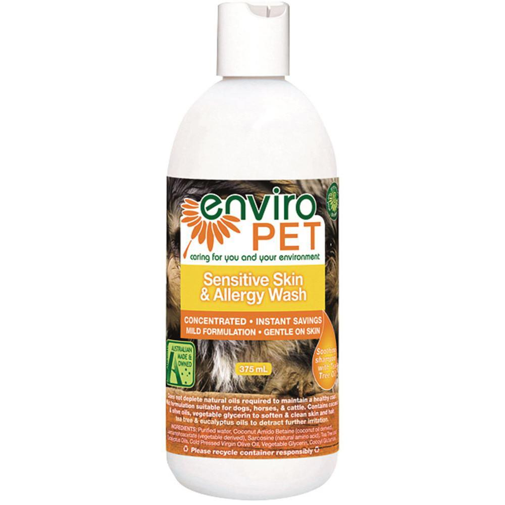 Enviropet Pet Sensitive Skin and Allergy Wash 375ml