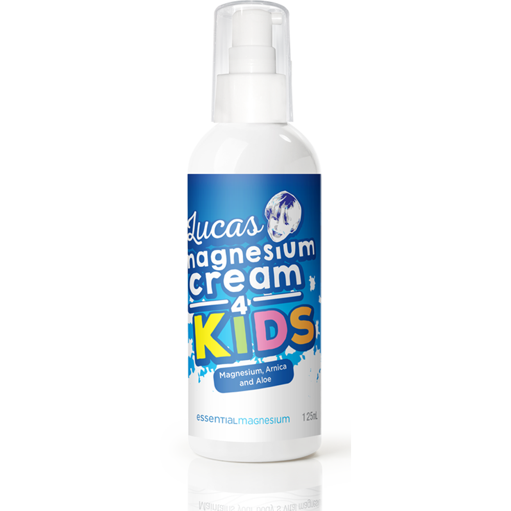 Essential Magnesium Lucas Magnesium Cream for Kids 125ml