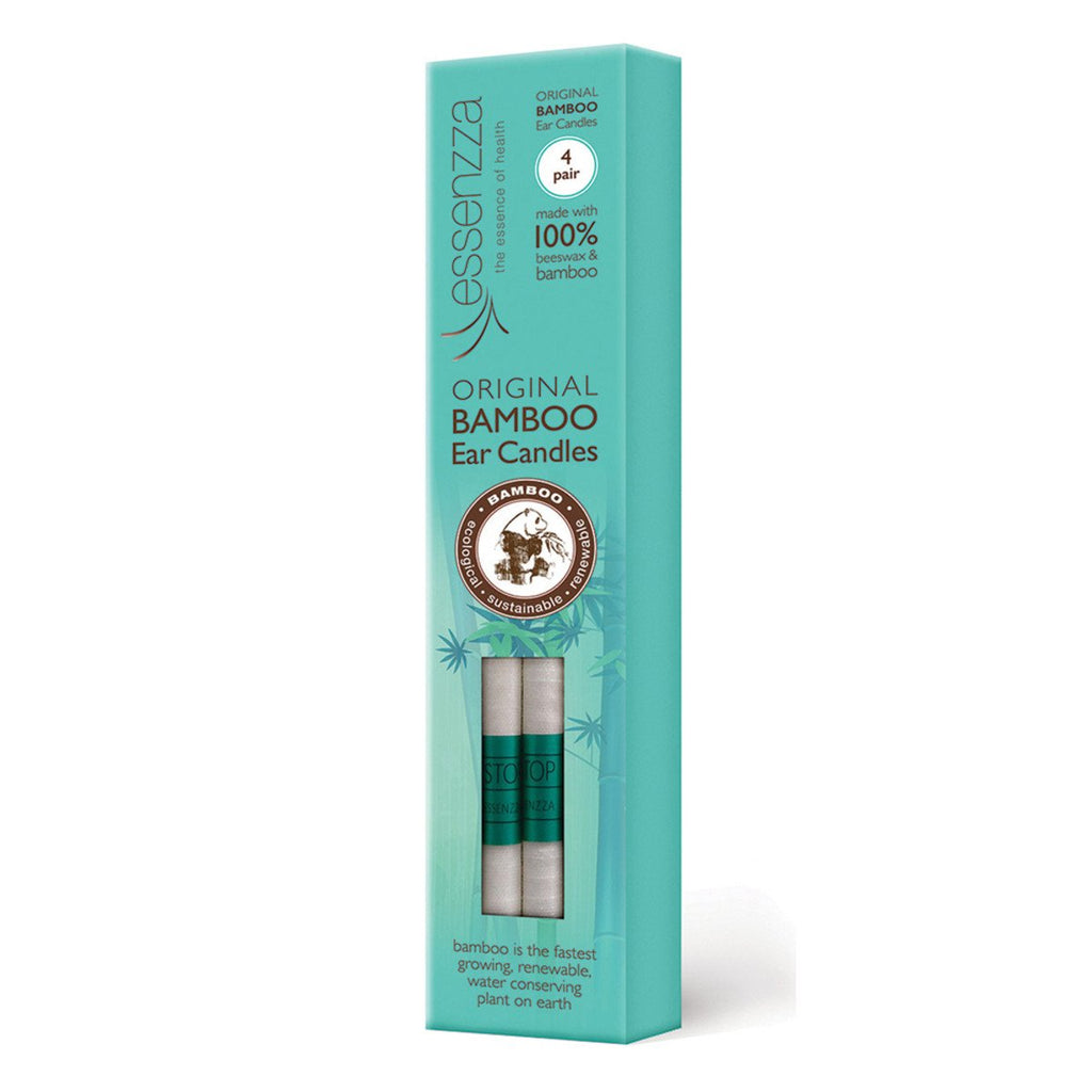 Essenzza Bamboo Ear Candles 4 Pairs