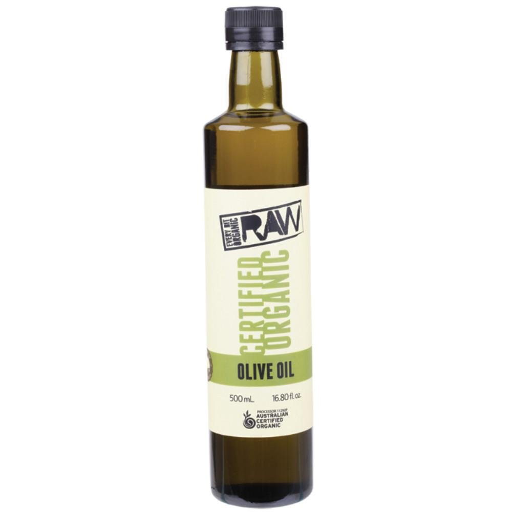 Every Bit Organic Raw Olive Oil 500ml Cold Press - Extra Virgin