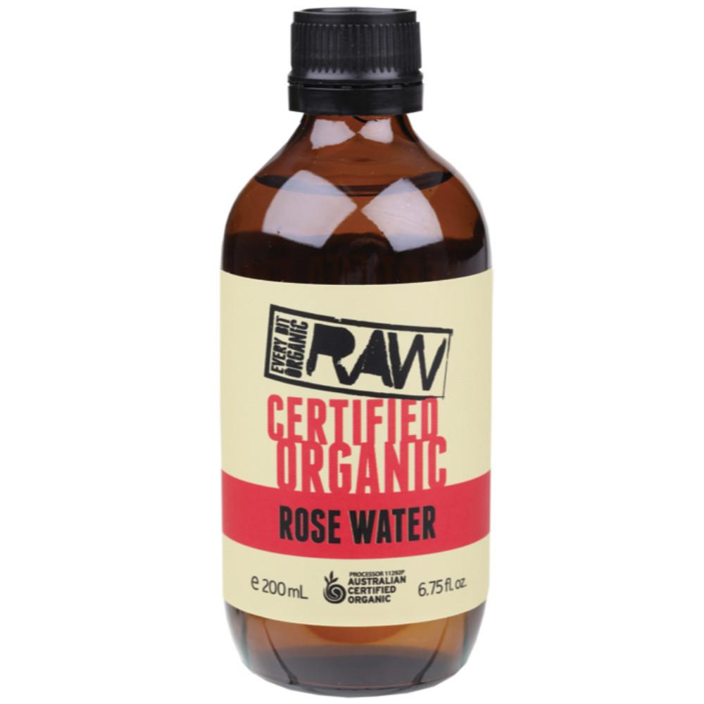 Every Bit Organic Raw Rose Water 200ml
