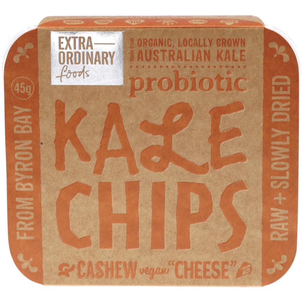 Extraordinary Foods Kale Chips 45g Cashew 'Cheese'