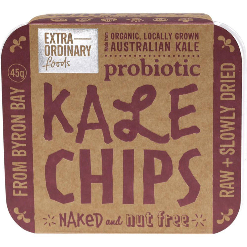 Extraordinary Foods Kale Chips 45g Naked and Nut Free
