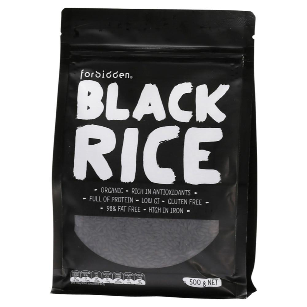 Forbidden Black Rice 500g 98% Fat Free - Low G.I.