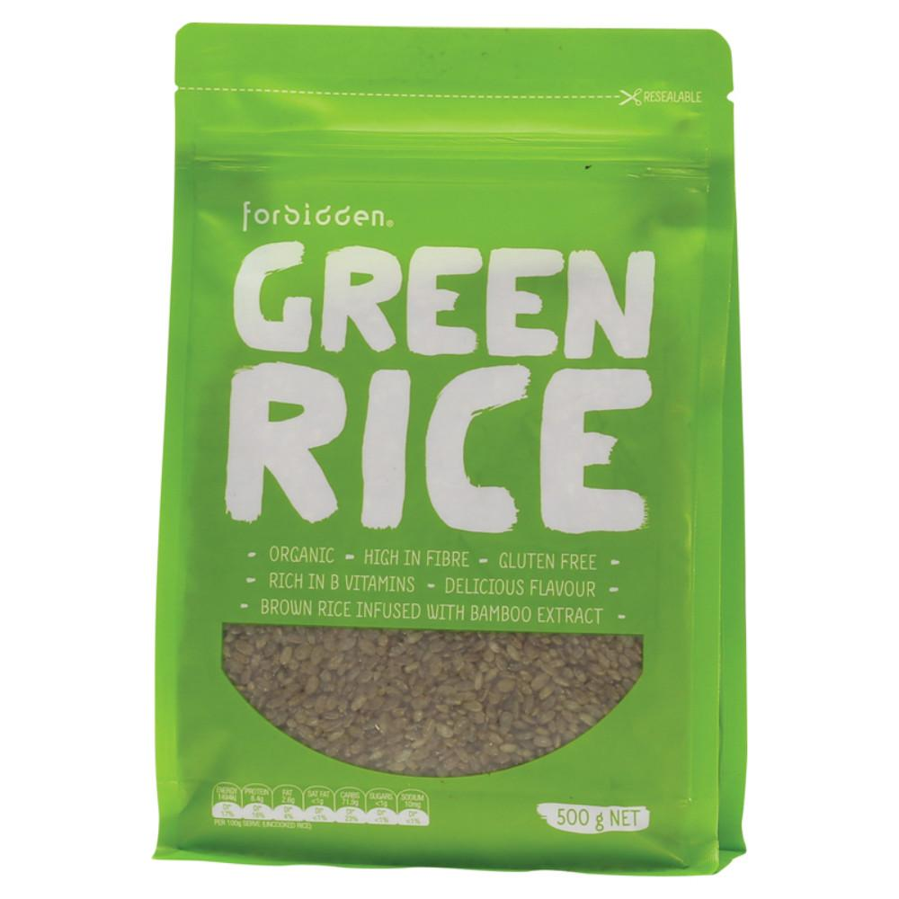 Forbidden Green Rice 500g With Bamboo Extract