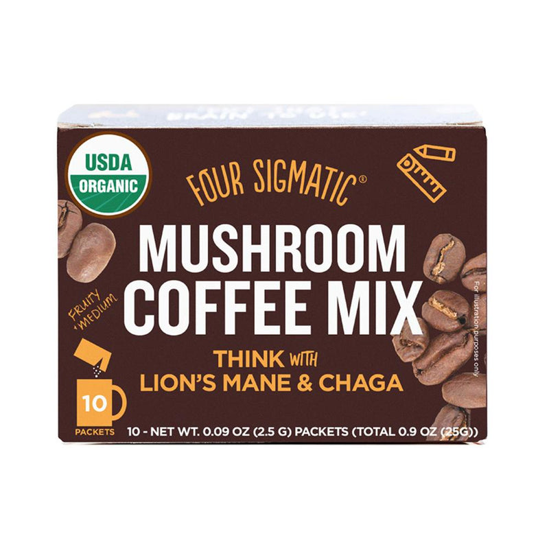 Four Sigmatic Mushroom Coffee Mix Lion's Mane & Chaga 10 x 2.5g