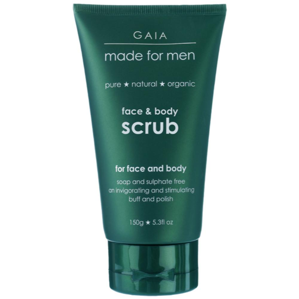 Gaia Made For Men Face and Body Scrub 150g For Men