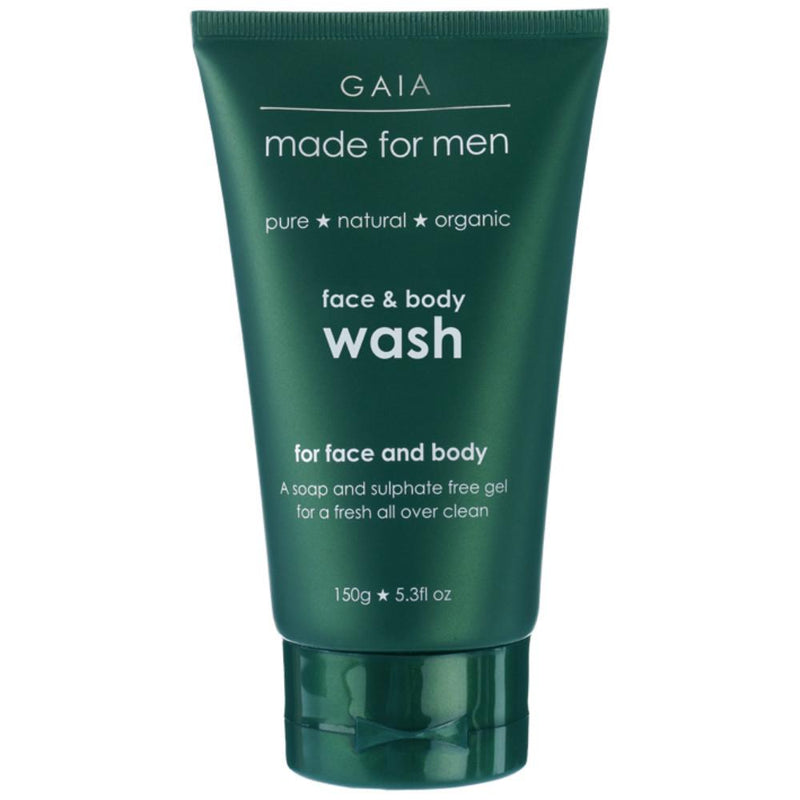 Gaia Made For Men Face and Body Wash 150g For Men