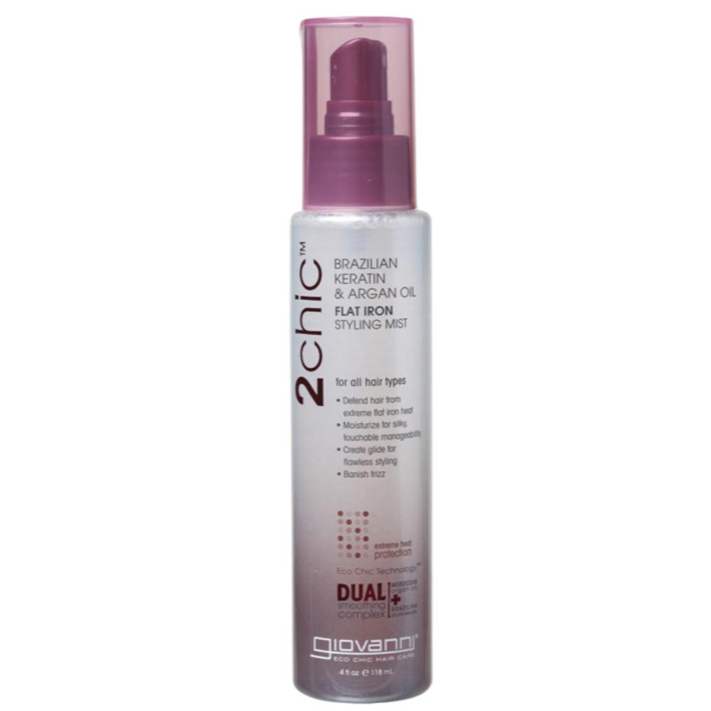 Giovanni Styling Mist Flat Iron - 2chic 118ml Ultra-Sleek (All Hair)