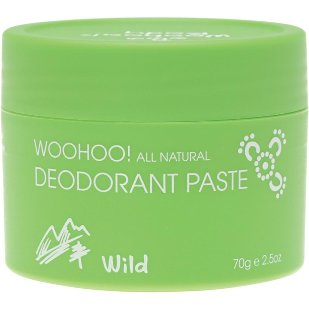 Happy Skincare Woohoo Body Deodorant Paste Wild Extra Strength 70g