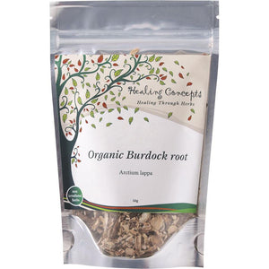 Healing Concepts Organic Burdock Root Tea 50g