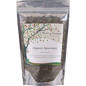 Healing Concepts Organic Spearmint Tea 40g