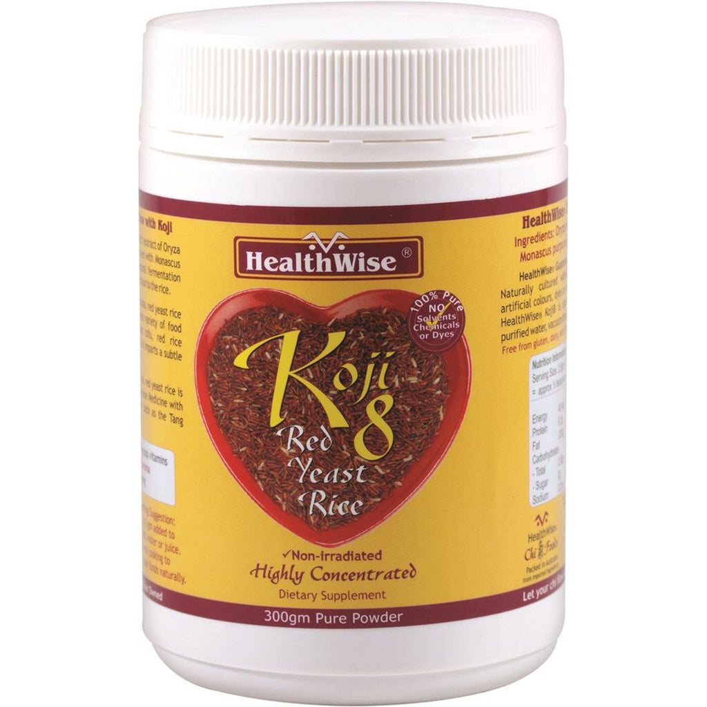 HealthWise Koji8 Red Yeast Rice 300g