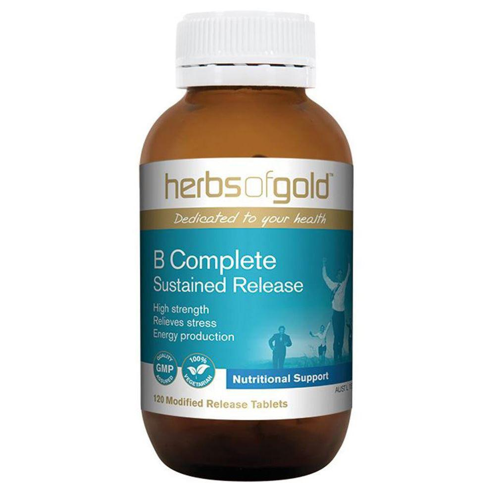 Herbs of Gold B Complete Sustained Release 120t