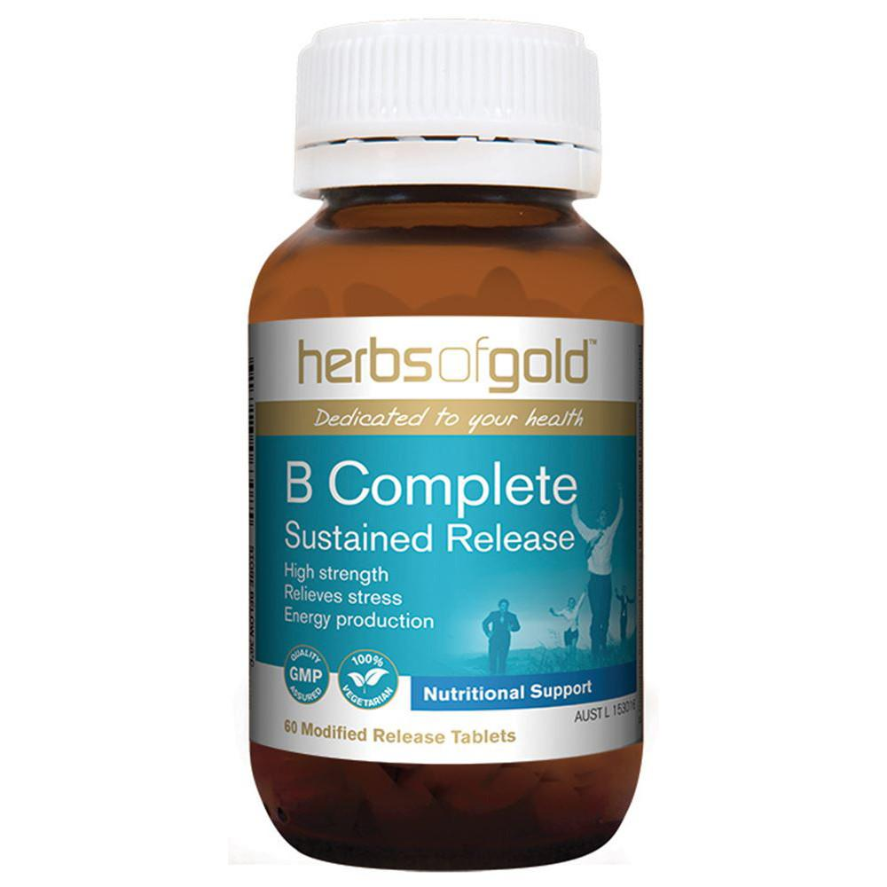 Herbs of Gold B Complete Sustained Release 60 Tablets