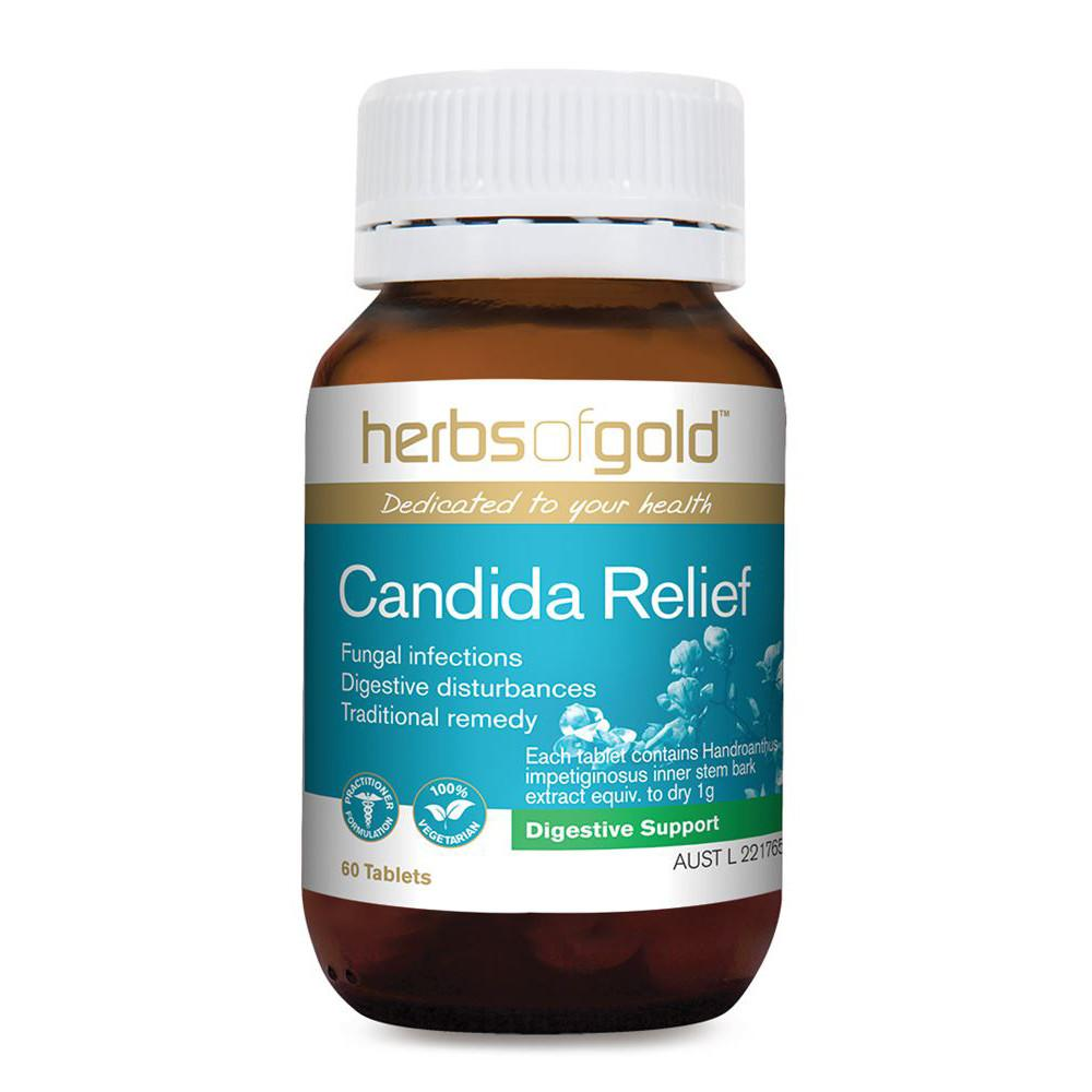 Herbs of Gold Candida Relief 60t