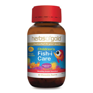 Herbs of Gold Children's Fish-I Care 60c