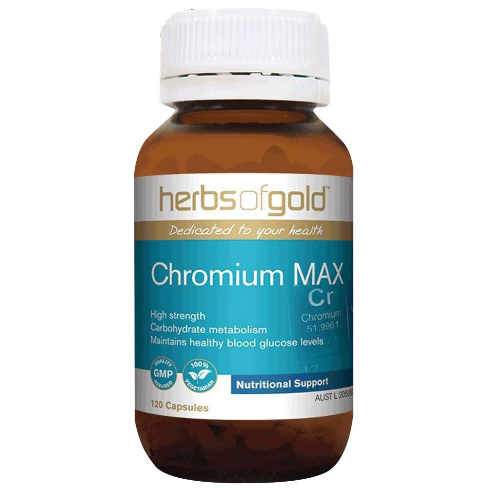 Herbs of Gold Chromium Max 120vc