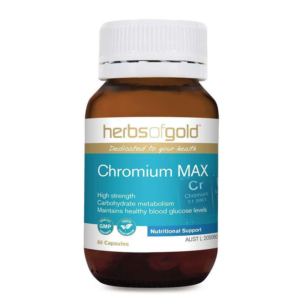 Herbs of Gold Chromium Max 60vc