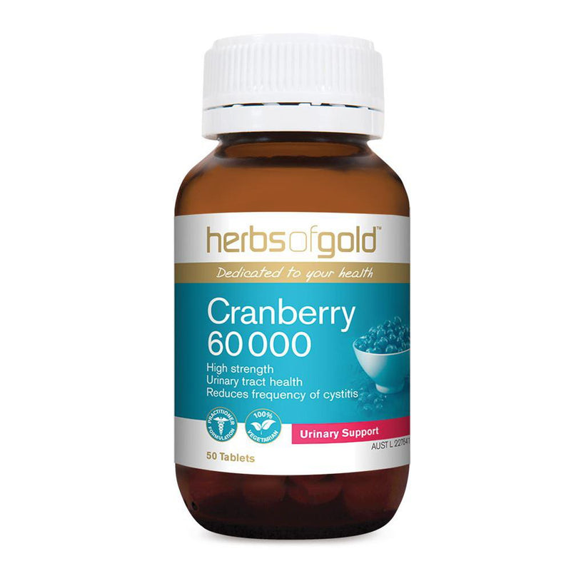 Herbs of Gold Cranberry 60 000 50t