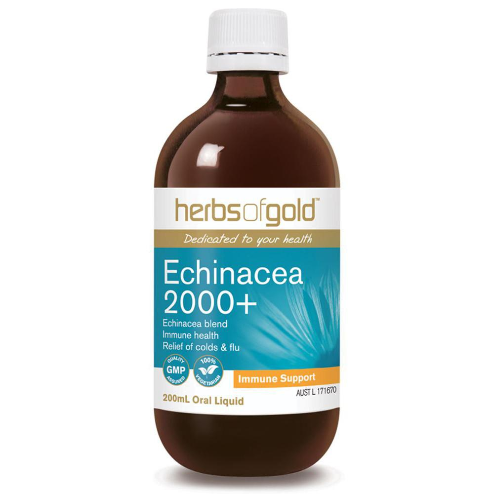 Herbs of Gold Echinacea 2000 plus 200ml