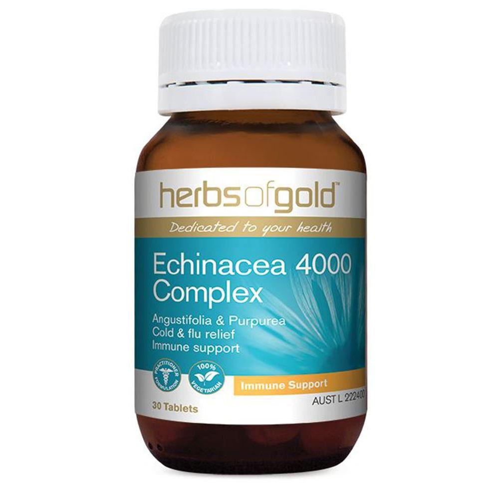 Herbs of Gold Echinacea 4000 Complex 30t