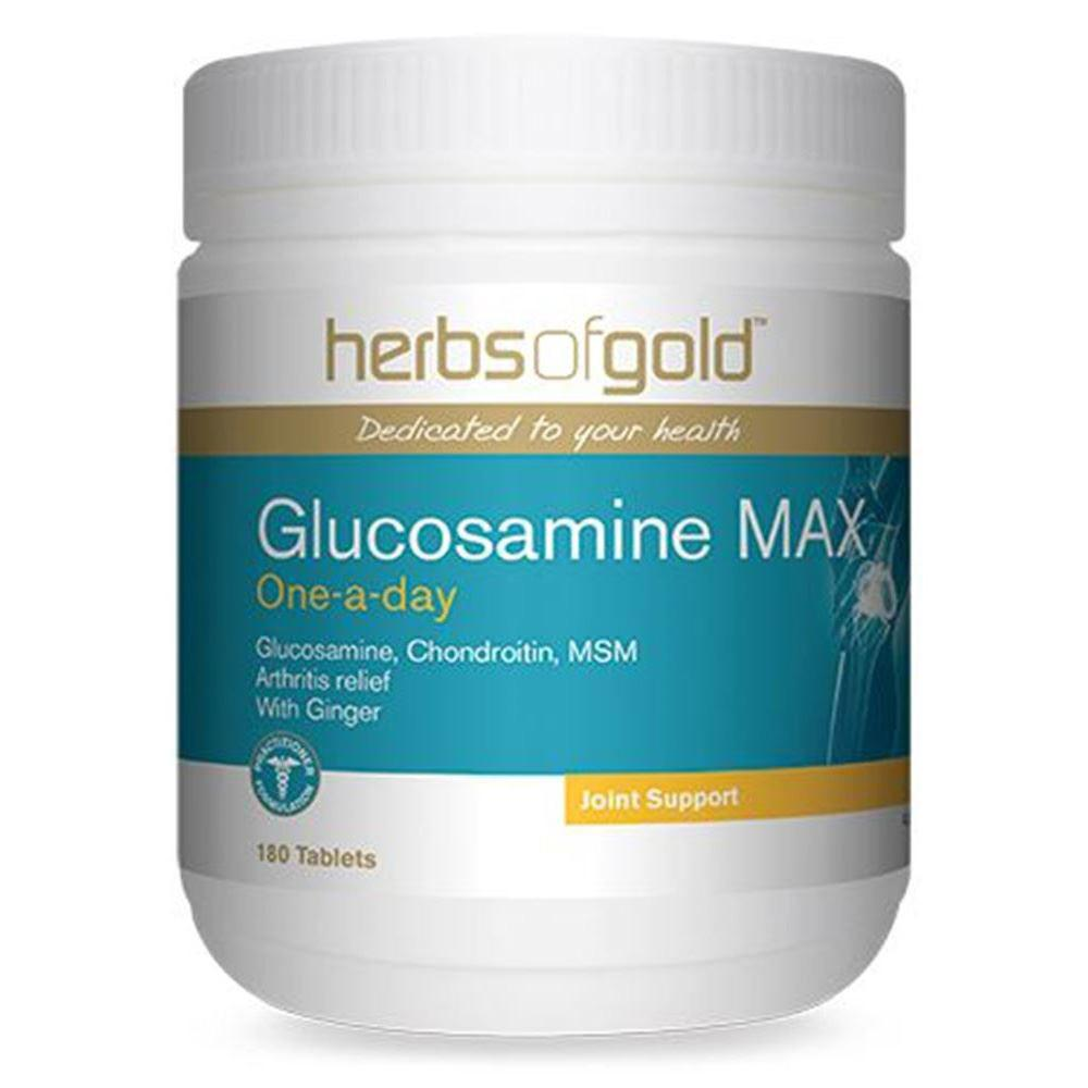 Herbs of Gold Glucosamine MAX 180t