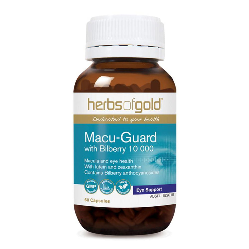 Herbs of Gold Macu-Guard with Bilberry 10 000 60vc