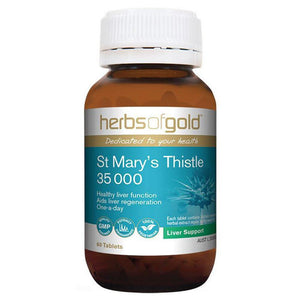 Herbs of Gold St Mary's Thistle 35 000 60t