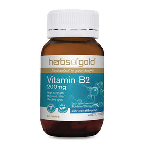 Herbs of Gold Vitamin B2 200mg 60t