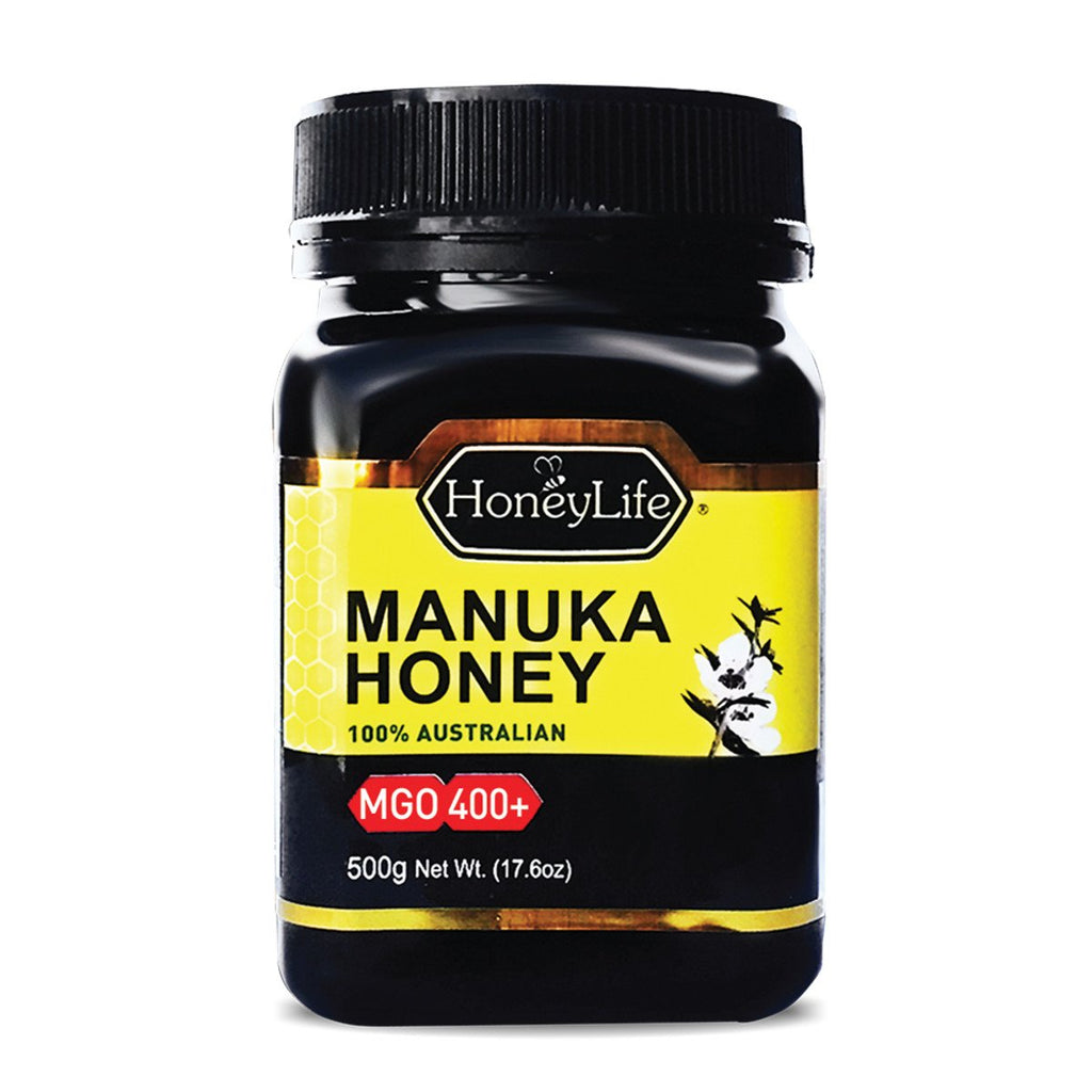 HoneyLife Manuka Honey MGO 400 Plus 500g