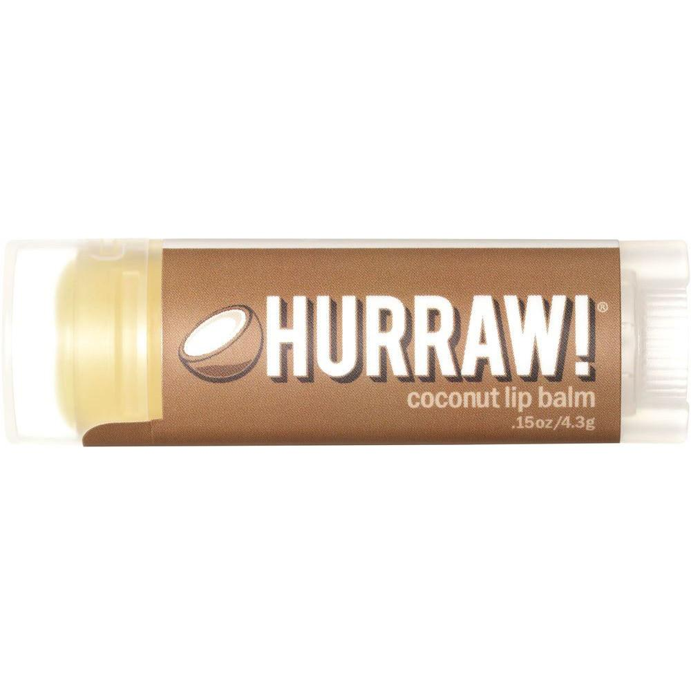 Hurraw! Lip Balm Coconut 4.3g
