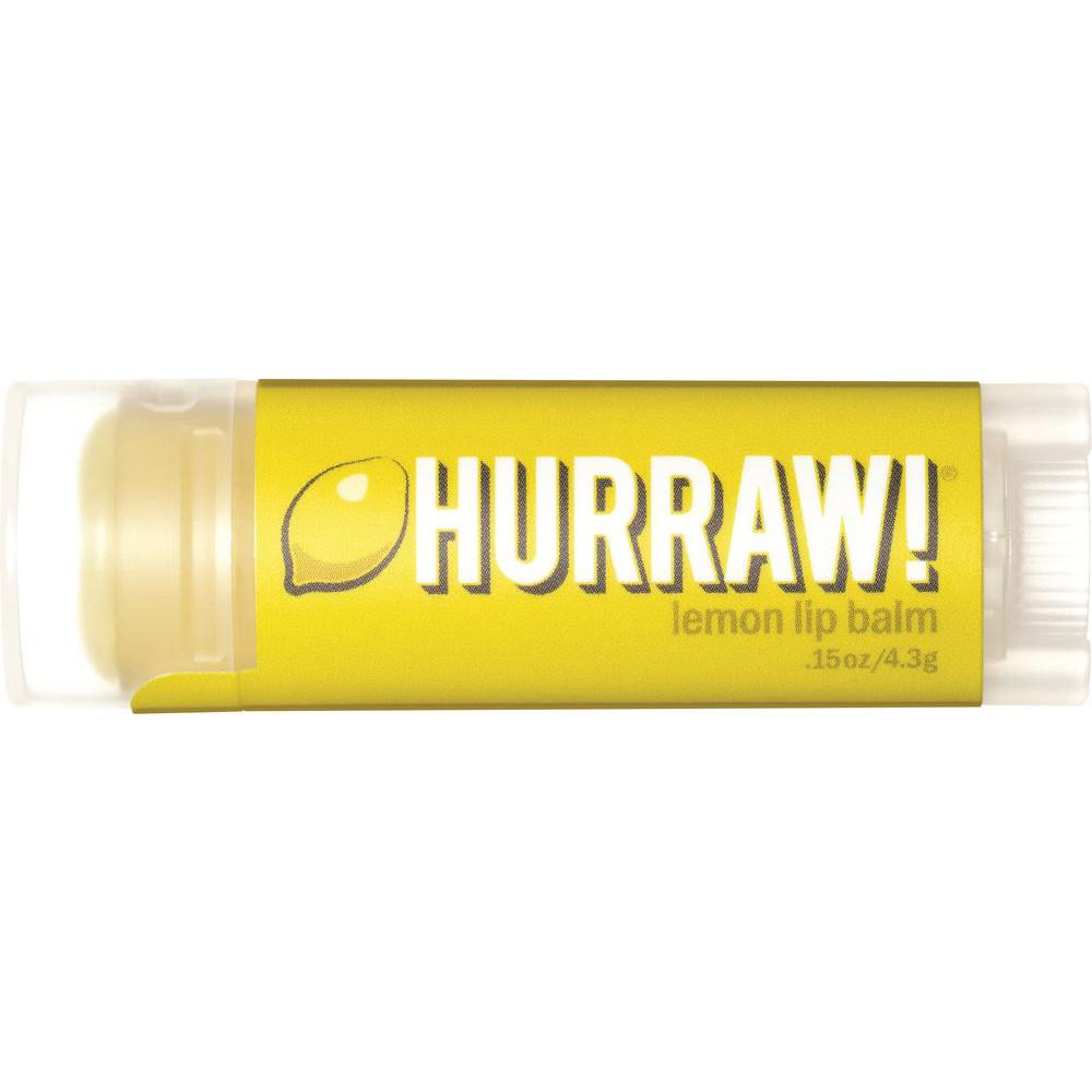 Hurraw! Lip Balm Lemon 4.3g